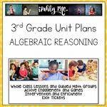 Algebraic Reasoning Guided Math Lesson Plans 3.4K 3.5A 3.5B 3.5E 3.6D 3.8B Math Lesson Plans, Math Lessons, Fractions, Multiplication, Problem Solving Activities, Math Activities, 3rd Grade Math Worksheets, Math Classroom, Classroom Ideas