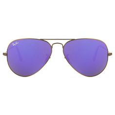 af00e2b16a44 Ray Ban Copper Violet Unisex Aviator Mirrored Aviators