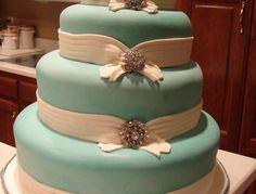 * Tiffany and Co. Brooch cake.