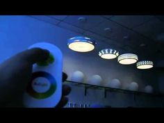 LED RGB ceilight lights +warm light---Synchronization control.f4v - YouTube
