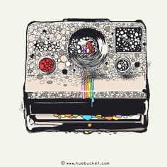 Creative Huebucket, Awesome, Illustrations, Color, and Illustration image ideas & inspiration on Designspiration Graphic Design Illustration, Photo Illustration, Canvas Prints, Art Prints, Love Painting, Illustrations, Design Art, Drawings, Vintage Polaroid