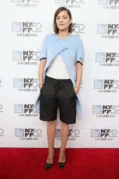 Marion Cotillard at Two Days, One Night Premiere