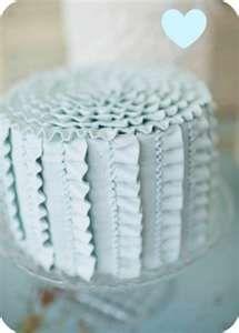 Ruffle Cake Tutorial @nikki striefler Ward  my new fave! Love love love this!