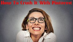 How Can A Real Estate Agent Crush It Using Pinterest. This is a post from Bill Gassett and his comments about Pinterest could be said better. Bill is a leading real estate agent/blogger. He really puts it together about the power of Pinterest and his link [Top Articles to Master Pinterest] is a great resource tool for everyone to use.