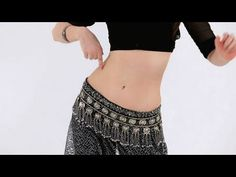 Belly Dance Moves: figure 8 - YouTube