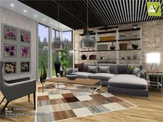 - Avangarde Living Room Found in TSR Category 'Sims 3 Living Room Sets' Sims 3 Living Room, Asian Living Rooms, Japanese Living Rooms, Japanese Bedroom, Small Living Rooms, Living Room Sets, Living Room Decor, Log Furniture, Country Furniture