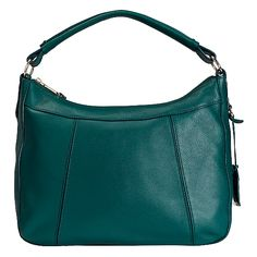 Linley Rounded A Line Hobo - Women's Handbags: Colehaan.com. Dark teal will pop against all my black.
