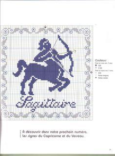 fil en aiguille 58 found in Lita Zeta's gallery album C2c Crochet, Filet Crochet, Cross Stitch Charts, Cross Stitch Patterns, Web Gallery, Zodiac Symbols, Plastic Canvas Crafts, Crochet Animals, Four Seasons