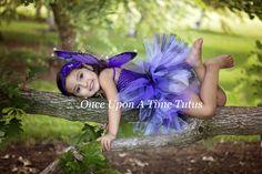 Purple Monarch Tutu Dress - Newborn Baby 3 6 9 12 18 24 Months 3T 4T & Giraffe Halloween Costume -