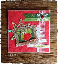 Christmas in.... - Ingrids scrapfrutsels