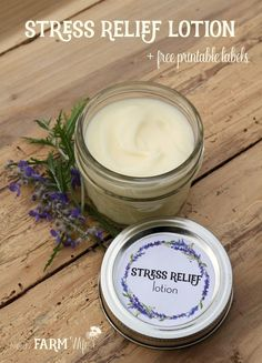 This lotion features a quartet of essential oils selected to help calm nerves and uplift the mood. I also incorporated a bit of magnesium oil into the recipe, since it's such an important mineral to s