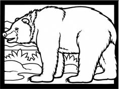 The Best  free bear coloring pages - http://coloring.alifiah.biz/the-best-free-bear-coloring-pages/