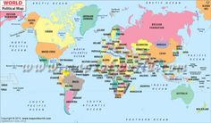 112 best world maps images on pinterest county seat usa maps and political map of the world gumiabroncs Image collections