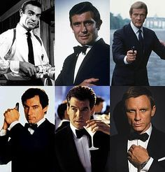 Happy 50th James Bond, from your groupies at www.esmale.com, which one is you fave?