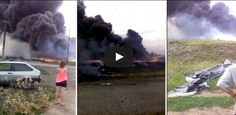 A new amateur video has surfaced online showing the horrific aftermath of the Malaysia Airlines MH17 crash in eastern Ukraine, which killed all 298 people on board in July.