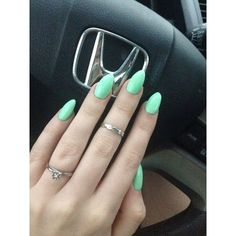 nice Manicure Ideas for Summer ❤ liked on Polyvore featuring - nails...