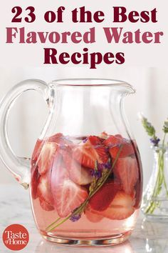 The 23 Best Flavored Water Recipes of All Time 23 of the Best Flavored Water RecipesYou can find Water recipes and more on our website.The 23 Best Flavored Water . Best Flavored Water, Flavored Water Recipes, Fruit Infused Water, Infused Waters, Fruit In Water Recipes, Water Infusion Recipes, Fruit Flavored Waters, Healthy Water, Healthy Drinks