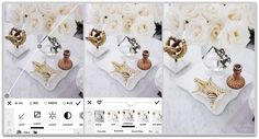 Easiest Steps to edit brighter interior shots for Instagram | White roses coffee table styling | A Color Story | Classy Glam Living