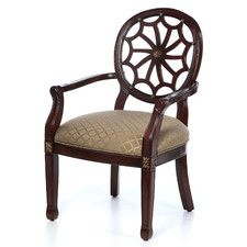 Classic Seating Spider Web Fabric Arm Chair