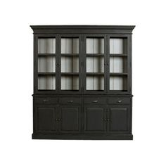 Sayville Four Door Cabinet (5,705 CAD) ❤ liked on Polyvore featuring home, furniture, storage & shelves, cabinets, storage shelving, adjustable shelving, drawer shelf, display cabinets and adjustable storage shelves