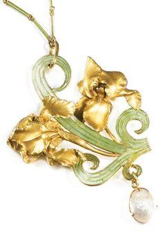 lalique 'iris' sotheby's