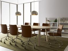 #Meetingroom with Stella chairs from Swedese