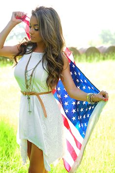 Land Of The Free Dress: Cream - Use code THOLLISREP at checkout to save 10% EVERY time you shop at www.shophopes.com! Free shipping in US and Canada. International shipping is available. SHARE THIS CODE WITH YOUR FRIENDS, AND HAPPY SHOPPING:)