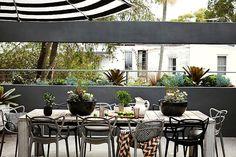 Diseño de exteriores: terrazas modernas 1