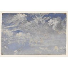 """""""Study of Cirrus Clouds"""", John Constable"""