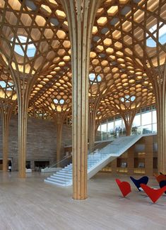 Haesley Nine Bridges Golf Club House designed by Shigeru BAN Architects, Japan 坂 茂