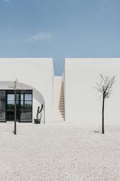 Masseria Moroseta in Puglia, Italy. Design by Andrew Trotter, photos by Salva López via Welcome Beyond