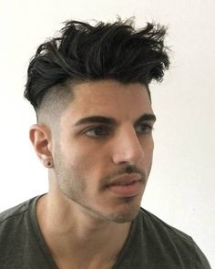 50 Best Short Back Sides Long On Top Mens Hairstyles 2018 Images