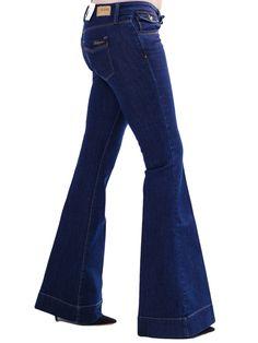 BSB Γυναικείο ελαστικό χαμηλοκάβαλο τζιν καμπάνα. Cotton-Elastan. 76€