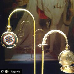 #Repost @hipguide My favorite thing about the Breguet exhibit is how well women are represented in high watchmaking. Included in this historic exhibit of 77 pieces are watches owned by Empress Josephine (Napoleon's first wife) Empress Marie-Louise (Napoleon's second wife) and Marie Antoinette. The exhibit is both an incredible explanation of watches for people who don't know anything about the history of watches but also a watch lover's dream. It includes subscription watches; touch watches…