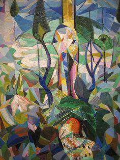 joseph stella paintings   Joseph Stella - Coney Island, 1914 - Stella based a series of abstract ...