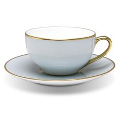 I collect Limoges tea cups to complete a tea set. Eyeing this Legle Blue Grey Teacup & Saucer Set next.
