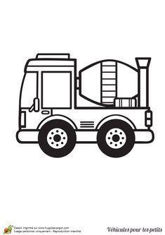 Transformers Truck Coloring Sketch Colorasketch