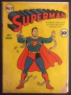 Superman-11-Golden-Age-Rare-DC-Comic