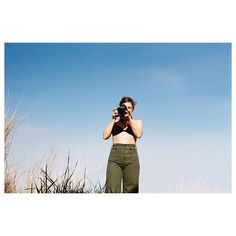 Caught shooting in Kamm pants, circa spring 2014  by @julieepointer #35mmfilm…