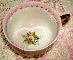 Xícara de chá, pintada a mão