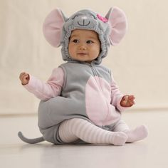 cutest little mouse costume from carters...could definitely reuse the pink shirt and tights too