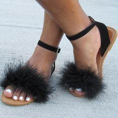 Image of Black Posh Sandals