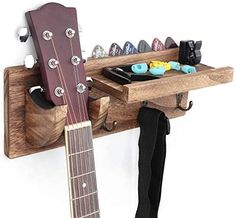 Ukulele Wall Mount, Guitar Wall Hanger, Guitar Rack, Guitar Display Wall, Guitar Hooks, Guitar Strings, Hang Guitar On Wall, Hanging Racks, Hanging Storage