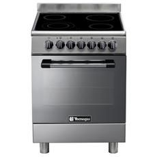 lofra cucina maxima 60x60 cm 4 fuochi forno elettrico inox pl66mft ... - Cucina 4 Fuochi Forno Elettrico