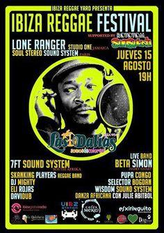 JUEVES 15 DE AGOSTO IBIZA REGGAE FESTIVAL : IMPERDIBLE!!!