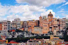 Cagliari, panorama di Castello da Villanova www.touringclub.it