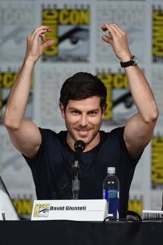David Giuntoli photos, including production stills, premiere photos and other event photos, publicity photos, behind-the-scenes, and more.