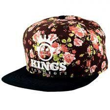 dc065bc5e733d Boné Kings florido mt lindo!! Boné Aba Reta Masculino