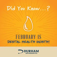 #DentalHealthMonth is all about learning how to keep your smile healthy! Did you know? According to Kimberly A. Harms, DDS, an American Dental Association spokeswoman, we have cut tooth decay in school-aged kids by half in the past 20 years thanks to fluoride in tap water.