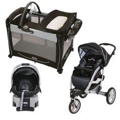 Graco Trekko 3-Wheel Stroller & Car Seat Travel System with Pack N Play, Metropolis, http://www.amazon.com/dp/B00IBLEWT0/ref=cm_sw_r_pi_awdm_XOwCtb113DC1P